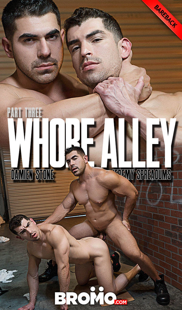 Bromo Whore Alley Part 3 Damien Stone Fucks Jeremy Spreadums Bareback