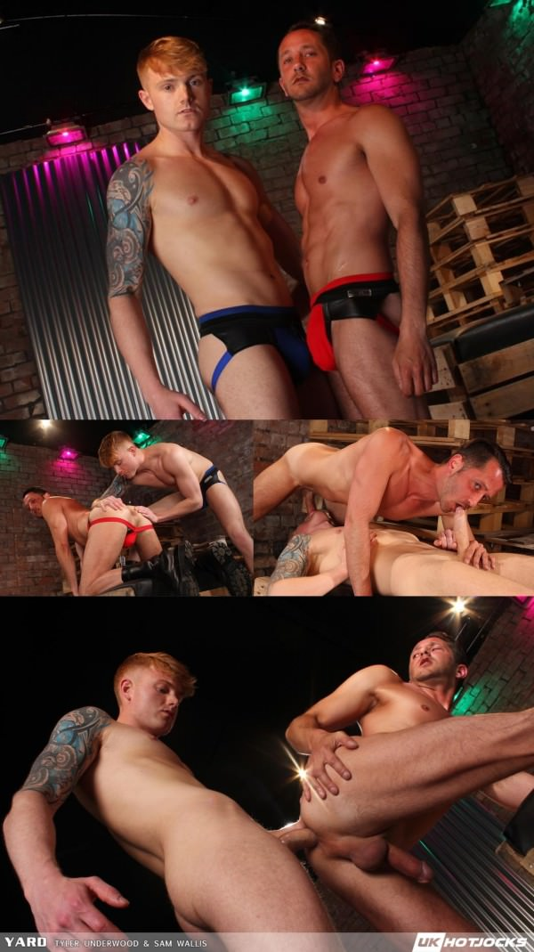 UkHotJocks Yard Tyler Underwood Sam Wallis