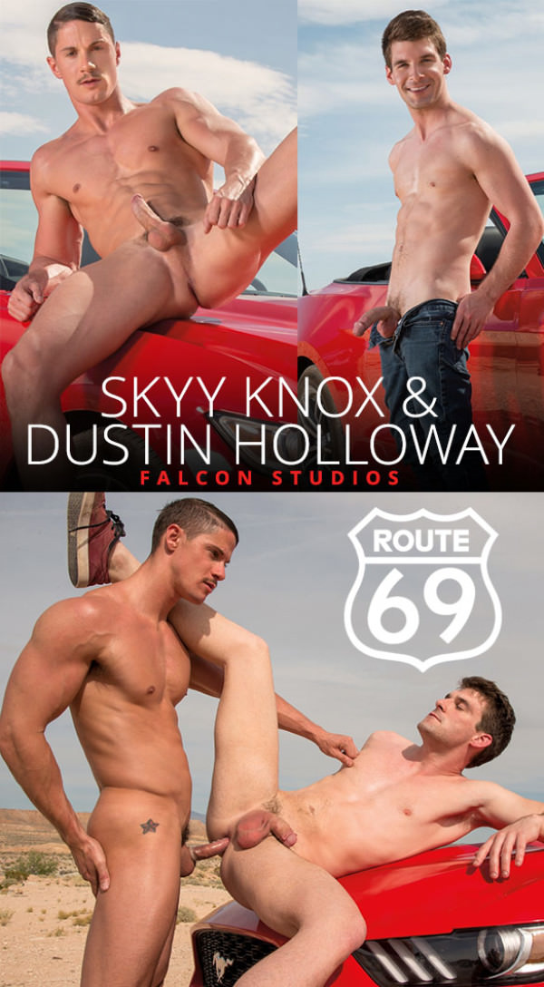 FalconStudios Route 69 Skyy Knox bangs Dustin Holloway
