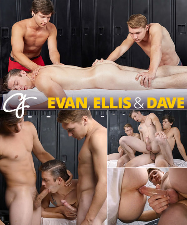 CorbinFisher Dave Evan Tag-Team Ellis Bareback