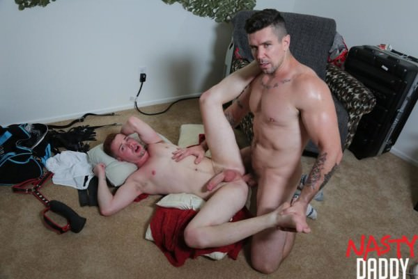 NastyDaddy Bound and Raw Trenton Ducati Kyler Ash Bareback