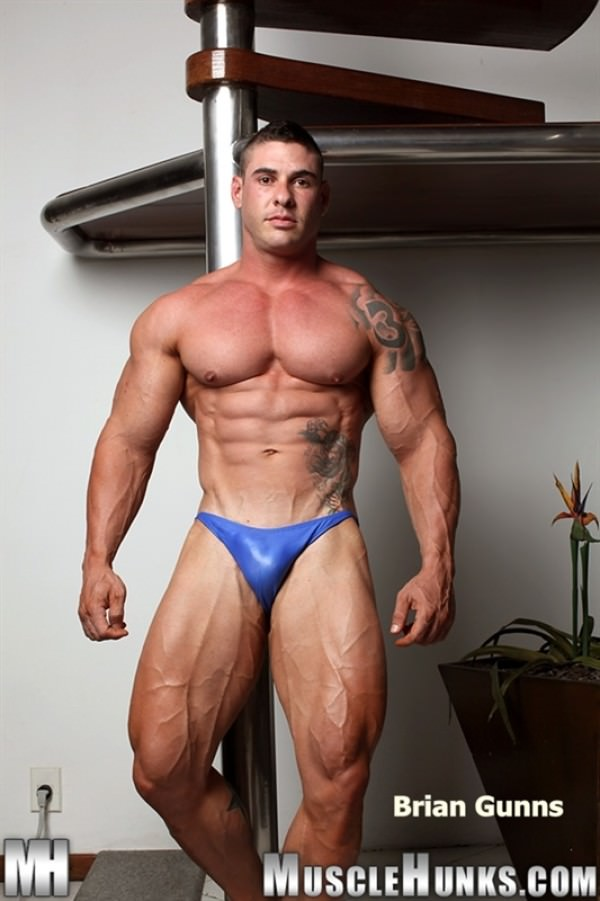 MuscleHunks Brian Gunns Gunning For Action