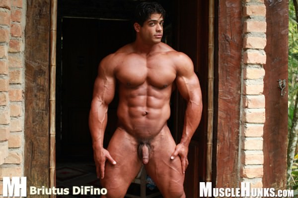 MuscleHunks Brutus Di Fino, Good Old Hard Muscle