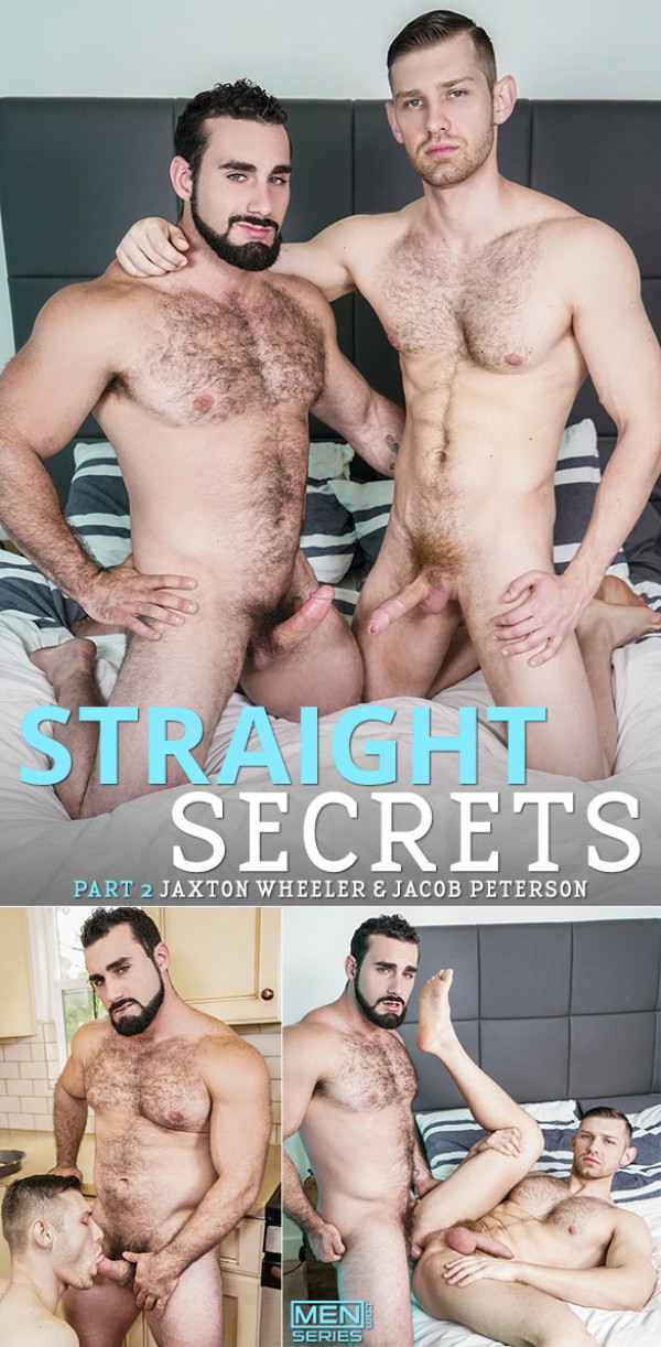 Men.com Straight Secrets Part 2 Jaxton Wheeler fucks Jacob Peterson Str8toGay