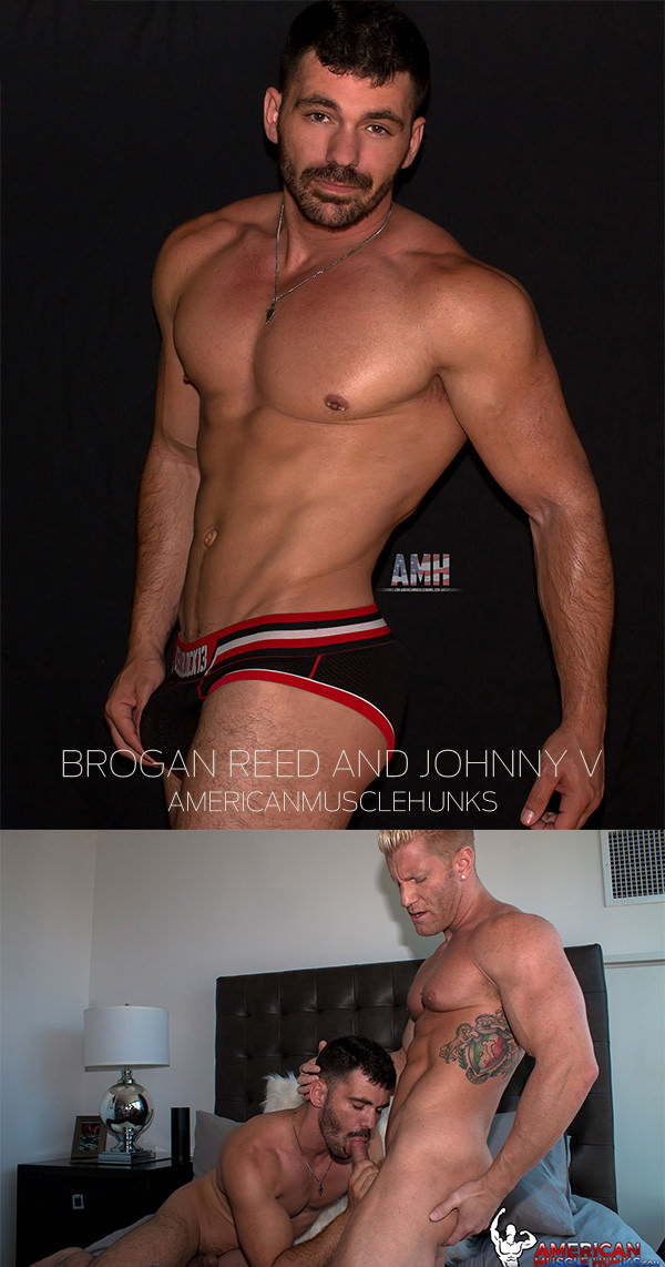 AmericanMuscleHunks Brogan Reed Johnny V