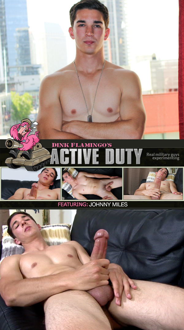 ActiveDuty Johnny Miles New Recruit