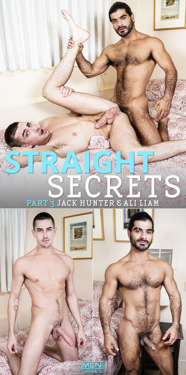 Men.com Straight Secrets Part 3 Ali Liam fucks Jack Hunter Str8toGay