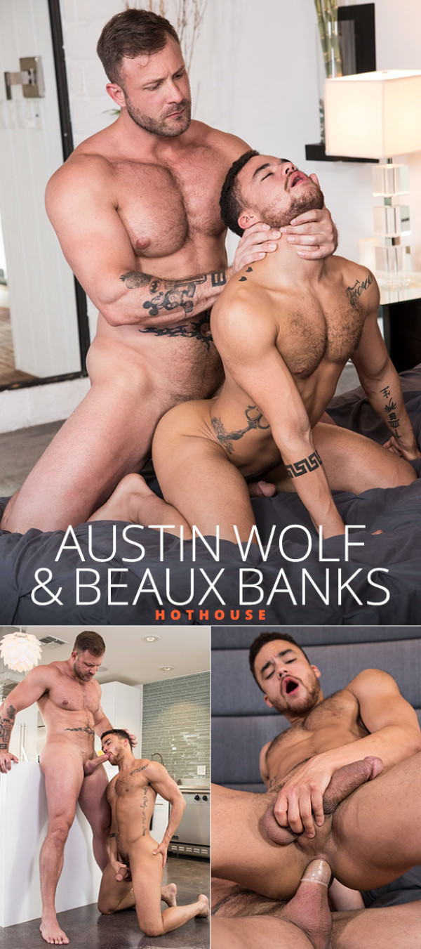 HotHouse The Fixer Austin Wolf fucks Beaux Banks