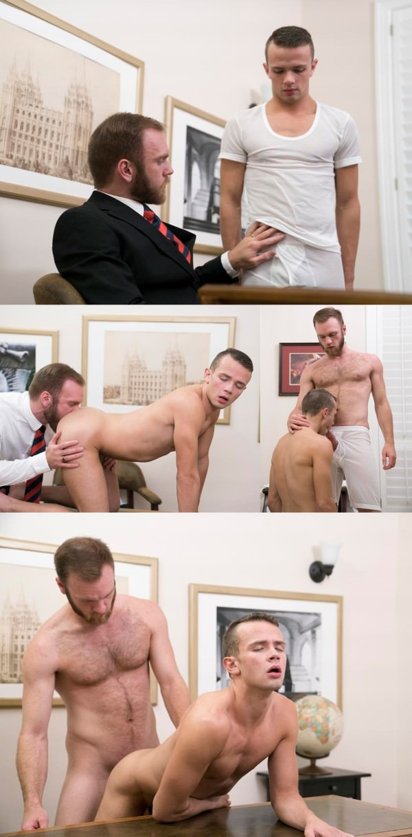MormonBoyz Elder Land THE CALLING Bareback