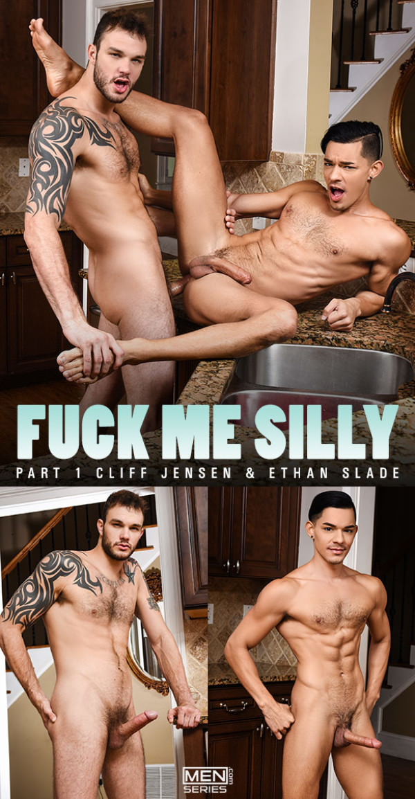 Men.com Fuck Me Silly Part 1 Cliff Jensen bangs Ethan Slade DrillMyHole