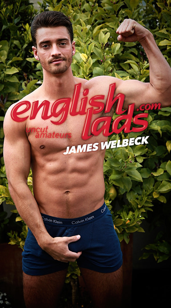 EnglishLads Straight Hunk James plays with his Hole for the First Time and Cums all over Himself James Welbeck