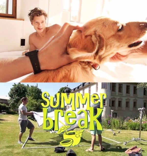 BelAmiOnline Backstage Summer Break Part 9