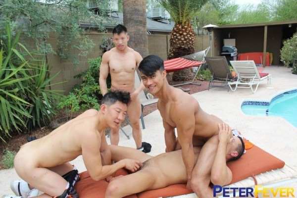 PeterFever Mr. Hardball Part 9: Jerk Off Contest Cody Hong, Gabriel Dalessandro, Ken Ott Jessie Lee