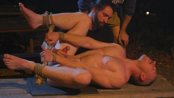 MenOnEdge New Camper Gets Edged at Camp Perv-Anon Damien Moreau