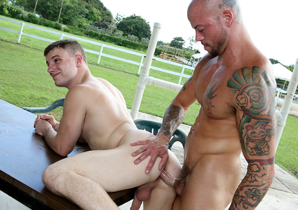 JockHunter Outdoor Anal Sex At The Ranch Sean Duran Doug Acre