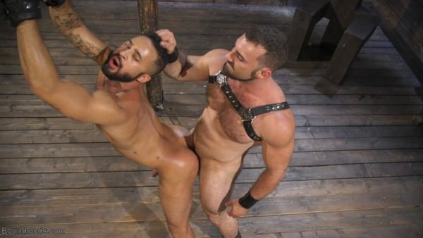 BoundGods Built and Bullied in Bondage Jaxton Wheeler Damian Taylor