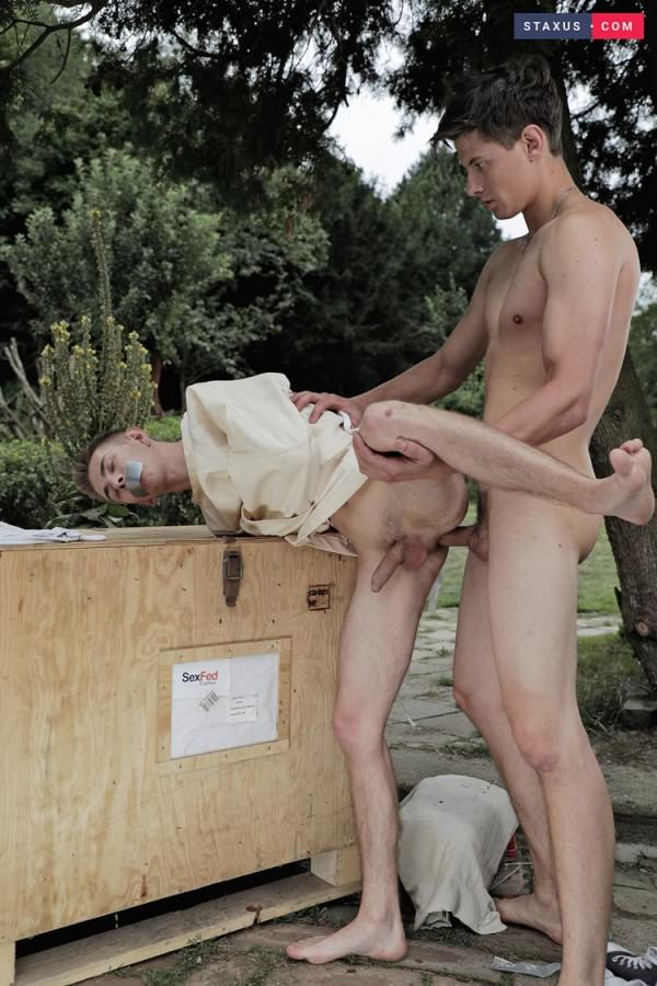 Staxus Cute Twink Gets Served Up For A Brutal, Ass-Splitting Fuck-Fest - Rudy Stone Johnathan Strake Bareback