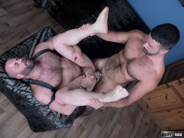 HairyAndRaw Matthieu Angel Teddy Torres Bareback