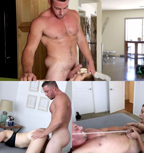 HotGuysFUCK Muscle Stud Derek Jones Takes Over Tori Blue