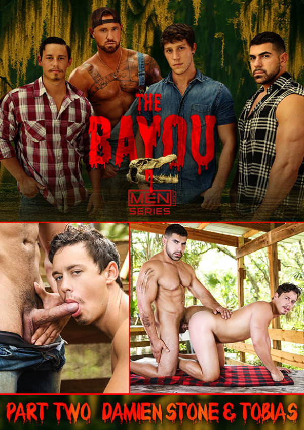 Men.com The Bayou Part 2 Muscle hunk Damien Stone fucks Tobias' beefy ass DrillMyHole