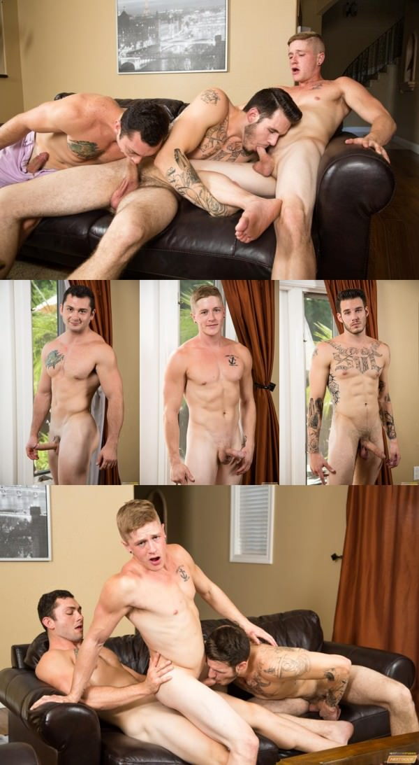 NextDoorBuddies Nervous Newbies Johnny Riley, Chris Blades TJ Lee Bareback