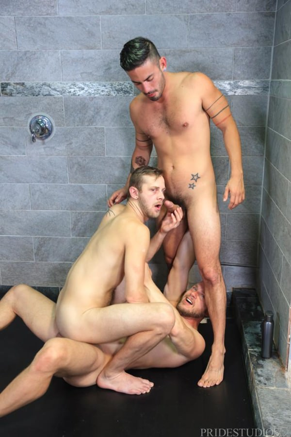 MenOver30 Wet Threeway Cesar Rossi, Hans Berlin Chandler Scott
