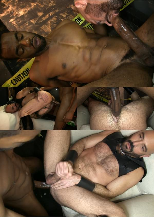 DarkAlleyXT Fucking the Sex Slave Chase Coxxx Adam Russo Bareback