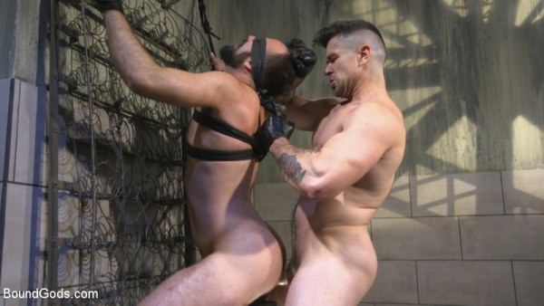 BoundGods Leather God Trenton Ducati Dominates Destroys Straight Stud Mason Lear