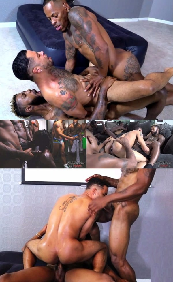 BreedItRaw The Fuck House Part 3: The Finale Ali, Diego, Gio, Kash Dinero, Khi Lavene, Knight, Mr. Buck, Romeo St. James & Trap Bareback