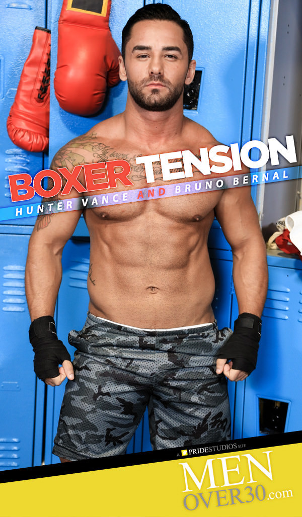 MenOver30 Boxer Tension Hunter Vance Fucks Bruno Bernal