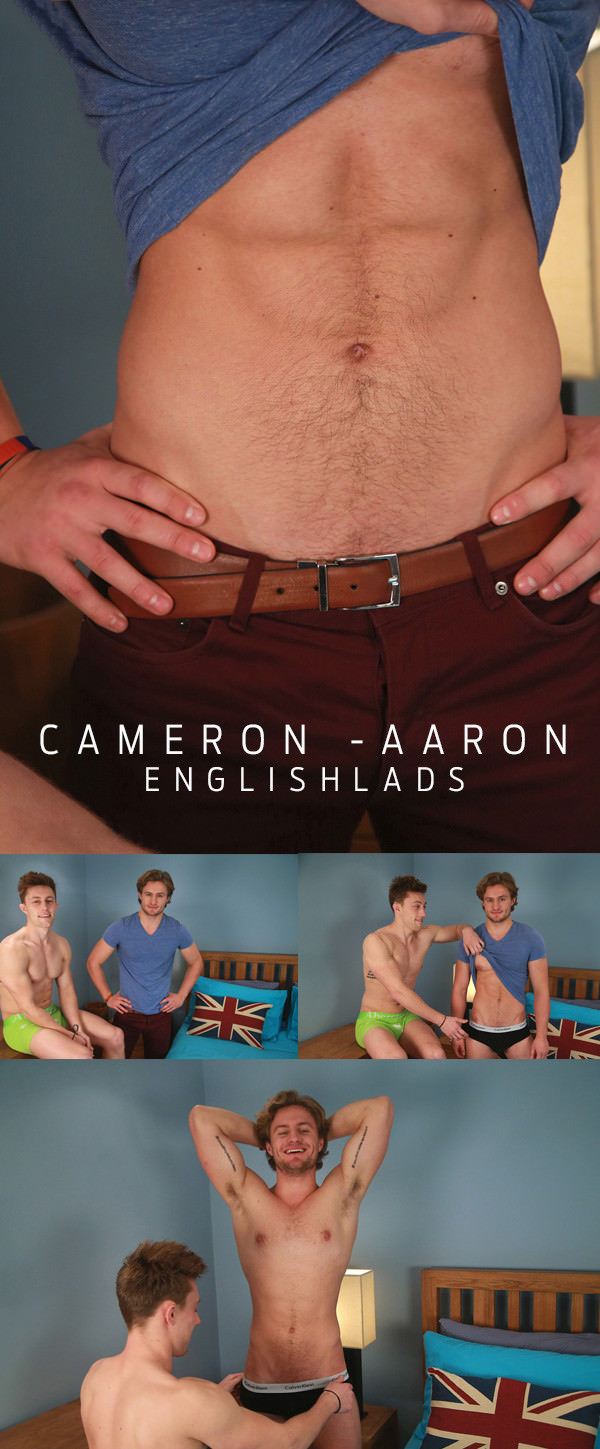 Englishlads Aaron Janes Cameron Donald Straight Hunk Aaron Gets his First Man Blow Job Shoots Cum Everywhere