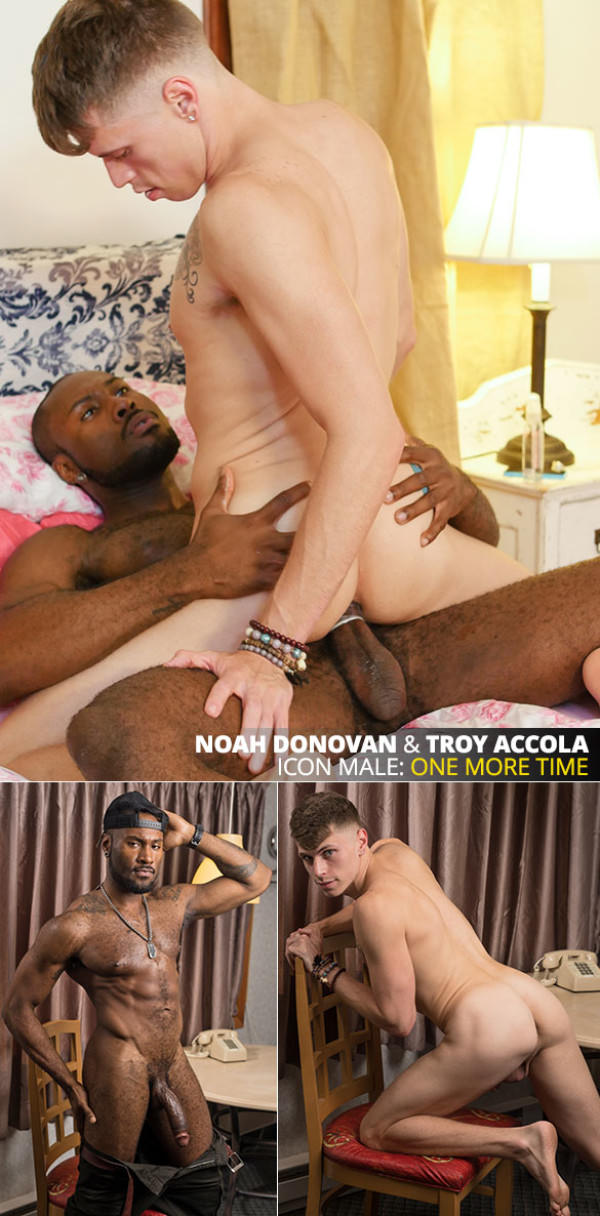 IconMale His Sister's Lover Troy Accola rides Noah Donovan's massive cock