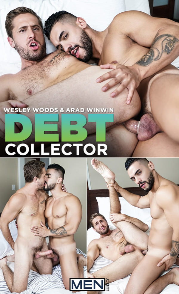 Men.com Debt Collector Arad Winwin fucks Wesley Woods DrillMyHole