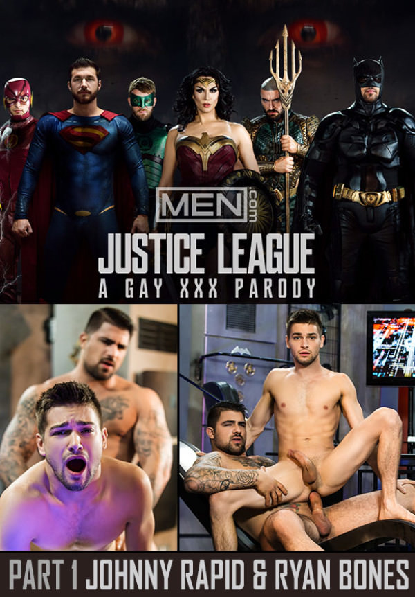 Men.com Justice League A Gay Xxx Parody, Part 1 Johnny Rapid & Ryan Bones Supergayhero