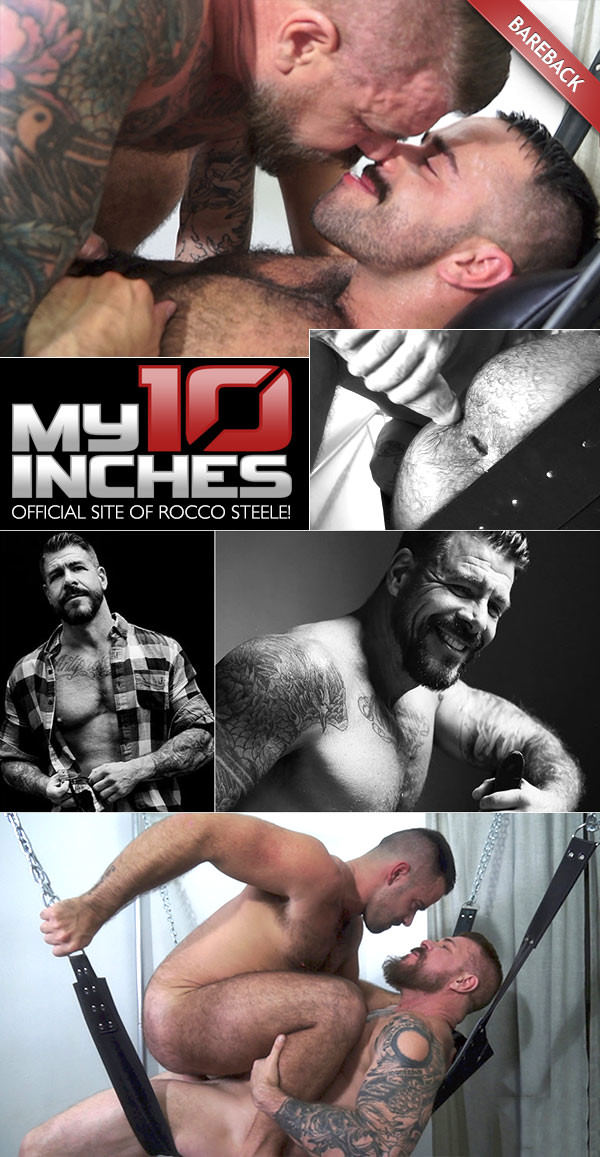 My10inches Fucking Teddy Torres With Rocco Steele Bareback