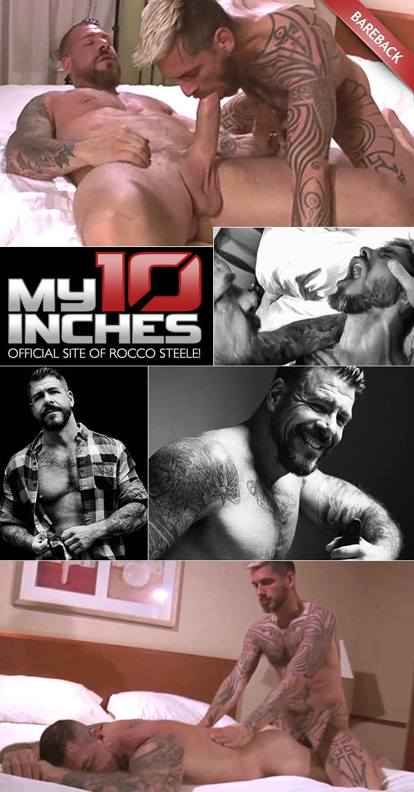 My10Inches Fucking Logan McCree With Rocco Steele Bareback