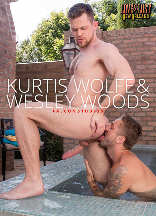 FalconStudios Love & Lust in New Orleans Wesley Woods Kurtis Wolfe service each other