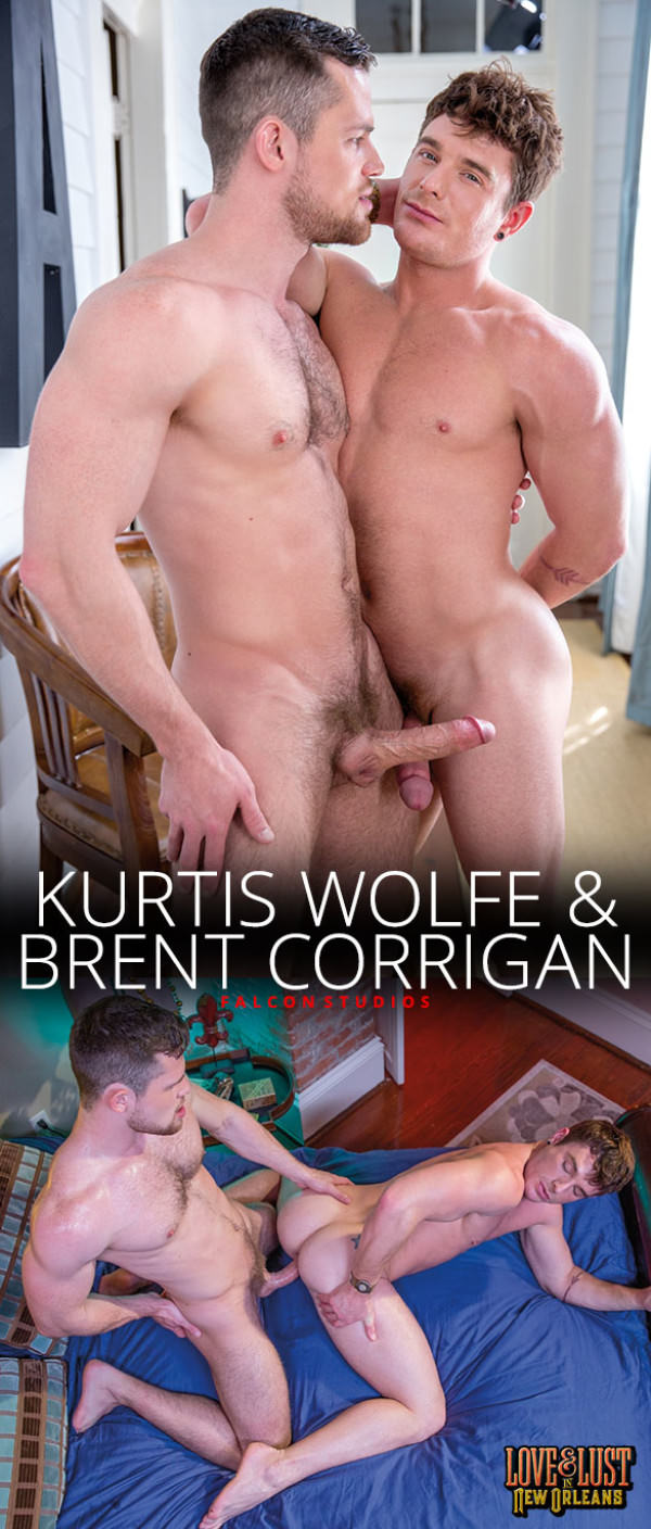 FalconStudios Love & Lust in New Orleans Kurtis Wolfe fucks Brent Corrigan