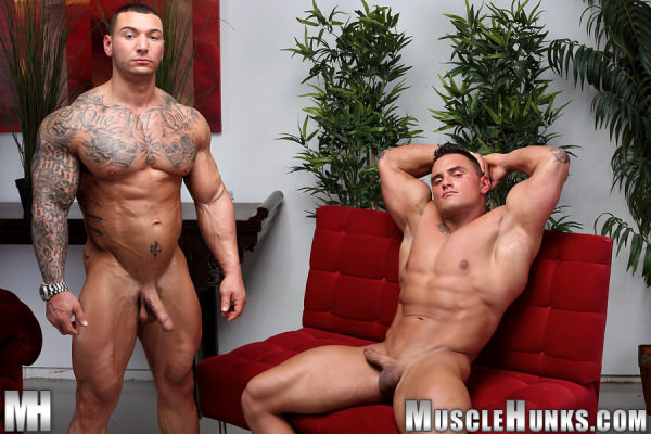 MuscleHunks Caleb Del Gatto Jackson Gunn Beasts & Butts