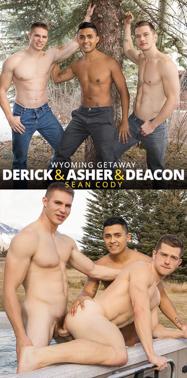 SeanCody Wyoming Getaway, Part 2 Derick, Asher & Deacon's raw threesome