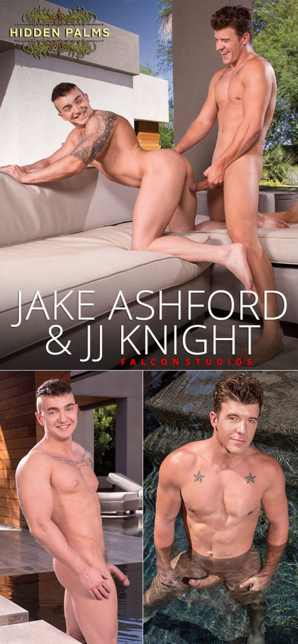 FalconStudios Hidden Palms Jake Ashford rides JJ Knight's big dick