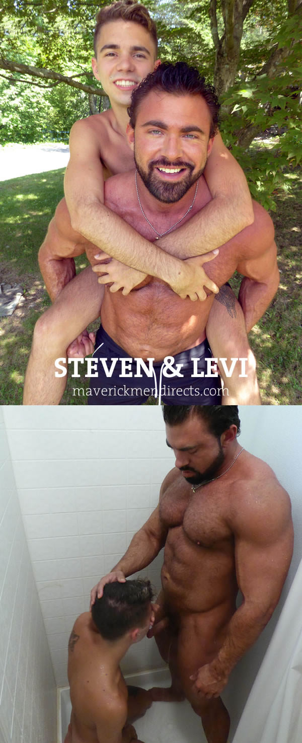 MaverickMenDirects Twinkie and the Beast Levi Steven Bareback