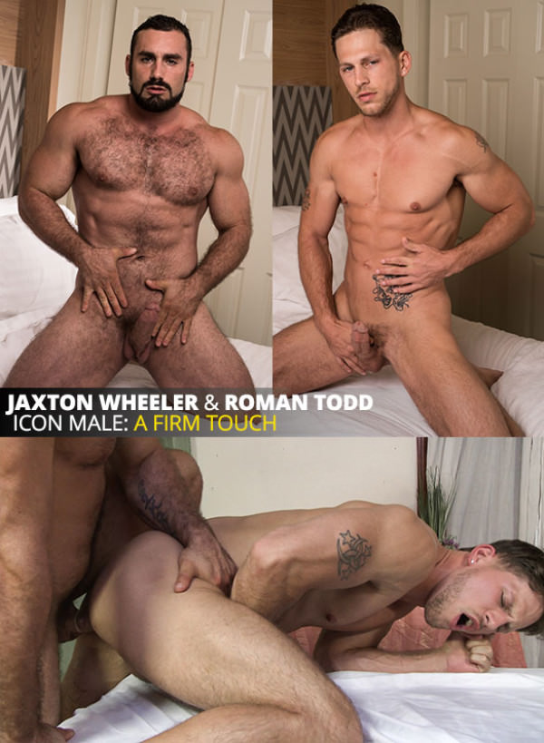 IconMale A Firm Touch Jaxton Wheeler fucks Roman Todd