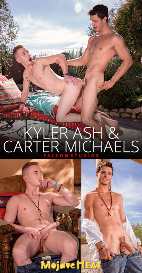 FalconStudios Mojave Heat Carter Michaels fucks Kyler Ash