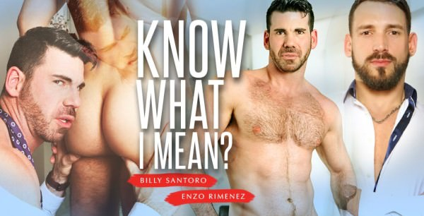 Menatplay Know What I Mean Billy Santoro Enzo Rimenez