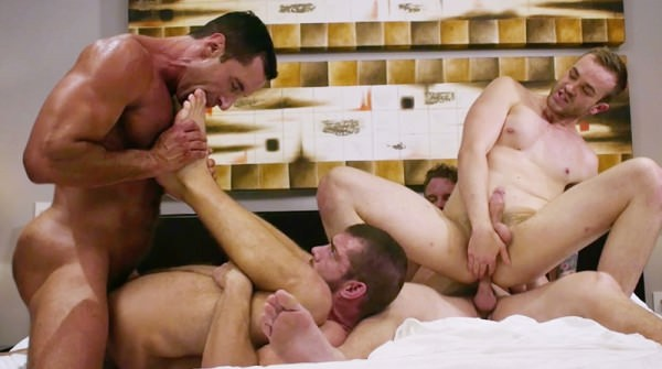 LucasRaunch Shawn Reeve, Jackson Radiz, Tryp Bates Nick Capra Fourway Foot Play
