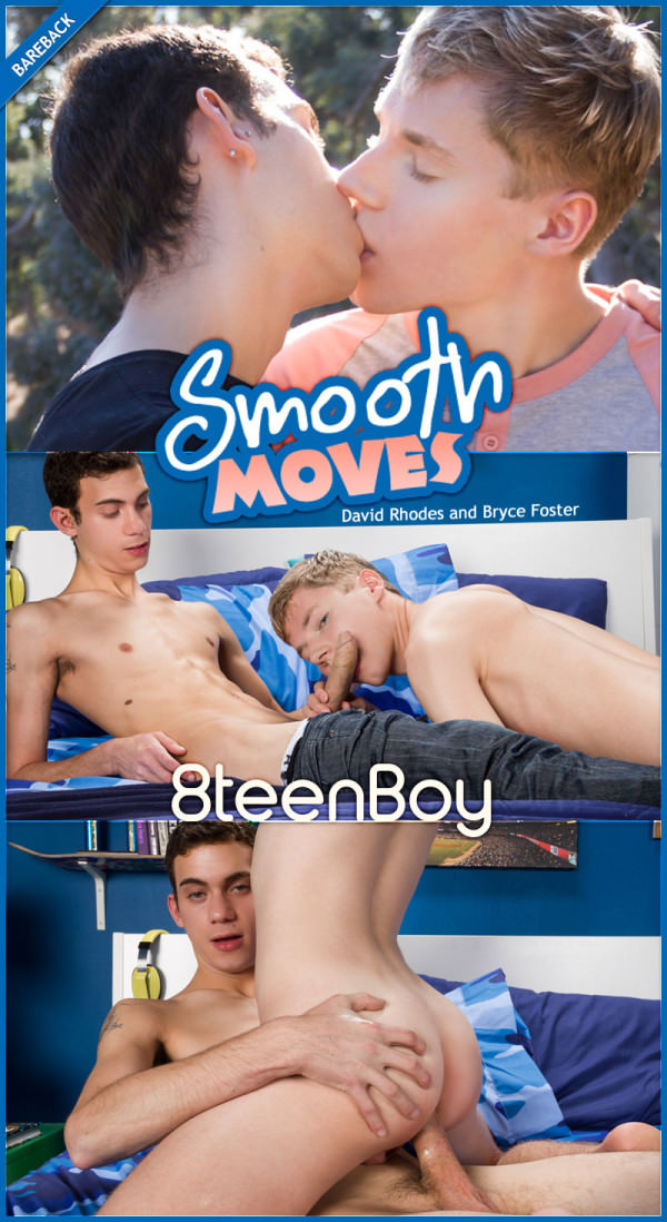 Helixstudios Smooth Moves David Rhodes Bryce Foster Flip-Fuck Bareback 8TeenBoy
