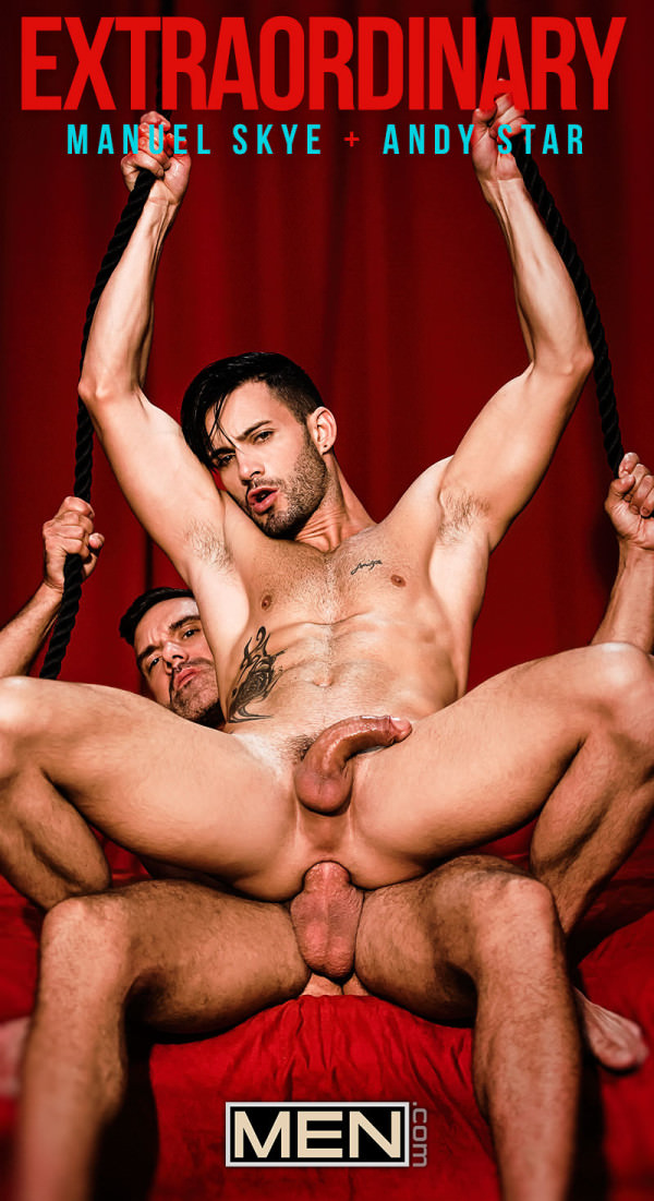 Men.com Extraordinary Manuel Skye fucks Andy Star GodsofMen