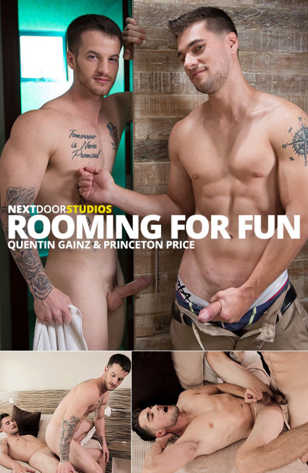 NextDoorRaw Rooming for Fun Quentin Gainz Princeton Price flip fuck bareback