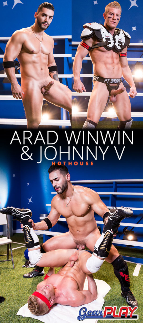 HotHouse Gear Play Arad Winwin fucks the cum out of Johnny V
